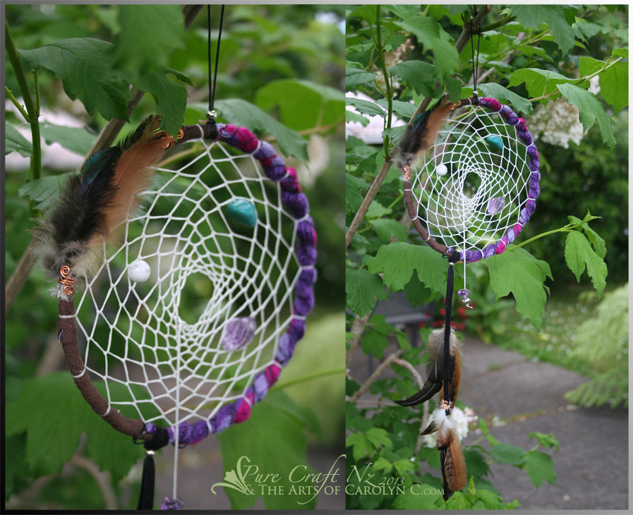 Decadent Dreams Healing Dream Catcher