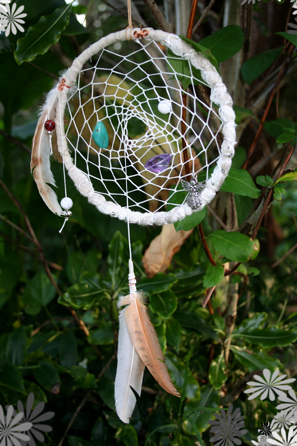 White Sand Dreams Dream Catcher