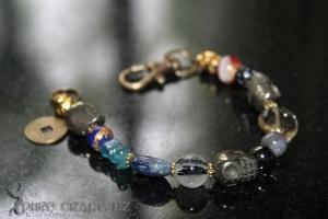 Mens Grounding, Healing, Creativity Bracelet