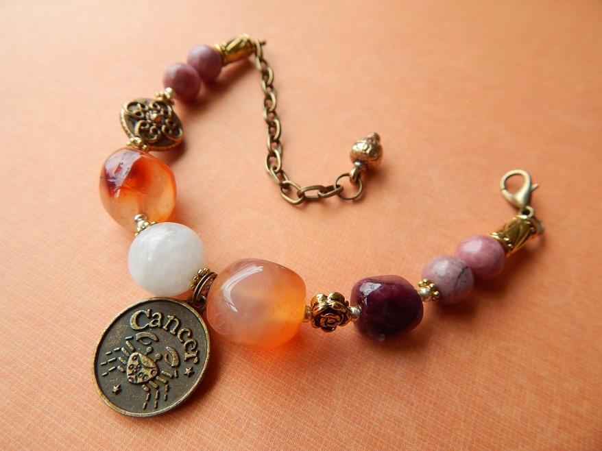 Cancer Healing Zodiac Bracelet -  $120.00