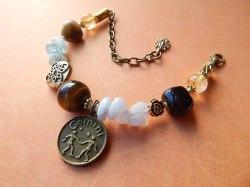 Gemini Healing Zodiac Bracelet -  $60.00