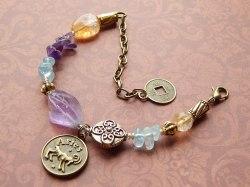 Aries Healing Zodiac Bracelet -  $60.00