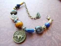 Taurus Healing Zodiac Bracelet -  $60.00