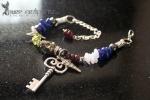 Garnet & Lapis Cold, Flu & Hay Fever Bracelet  - $50.00