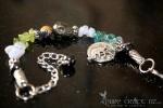 Iron Pyrite & Peridot Cold, Flu & Hay Fever Bracelet  - $45.00