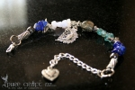 Iron Pyrite & Peridot Cold, Flu & Hay Fever Bracelet  - $45