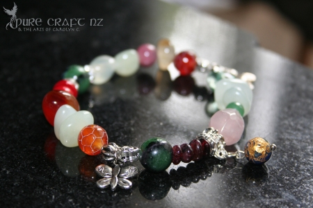 Fertility Stretchy Charm Bracelet - $32.00