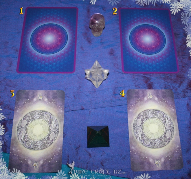 Numerology Guidance Oracle & the Shadowscapes Tarot
