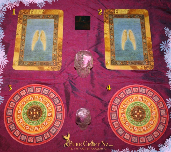Healing With the Angels Oracle, & Celtic Messages