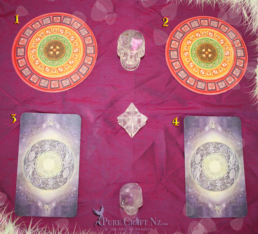 Celtic Messages, and the Shadowscapes Tarot
