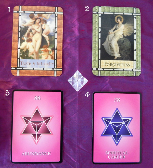 Healing with the Angels Oracle, and the Numerology Guidance Oracle