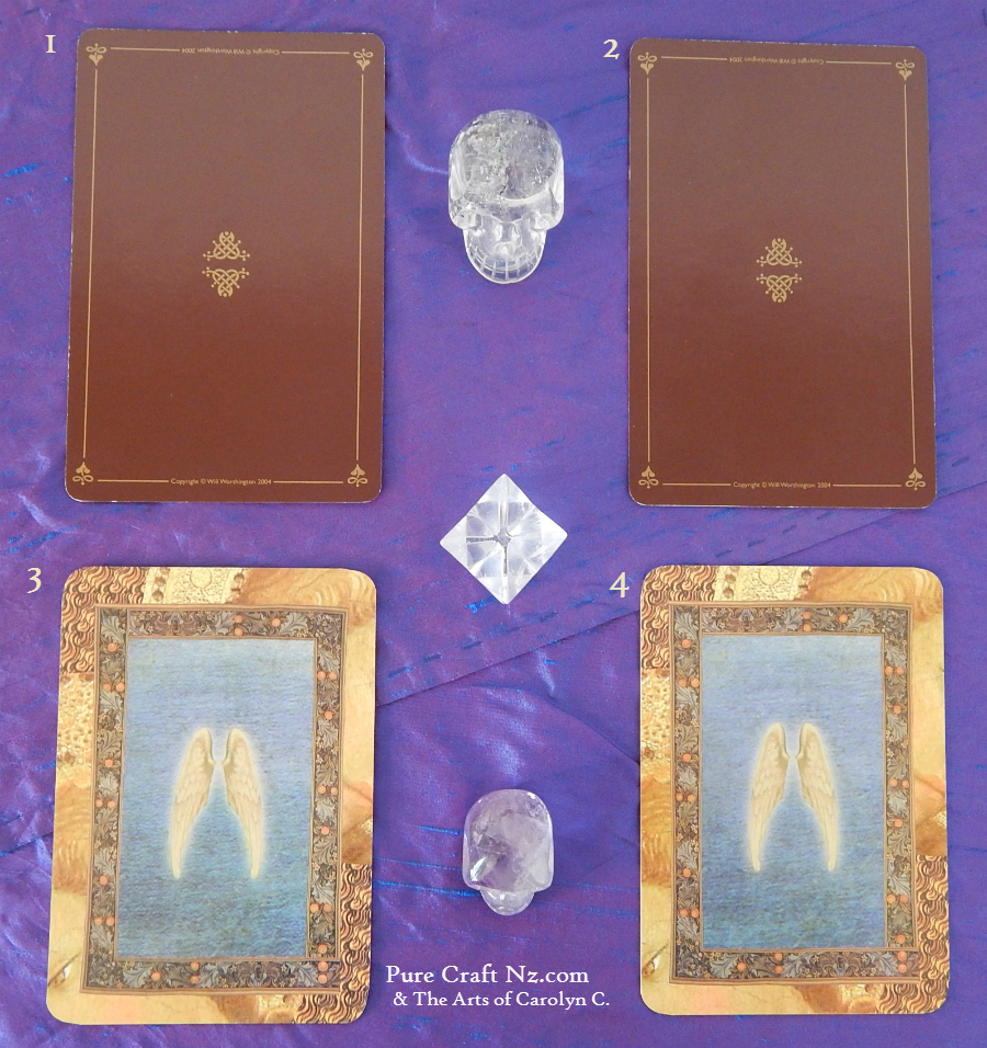 Druid Craft Tarot, and Healing with the Angels Oracle