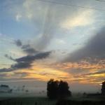 Sunrise in Hamilton