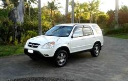 My new Honda CRV SUV