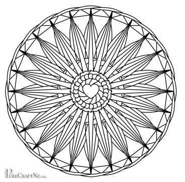Mandala of the Heart